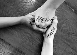 Image result for you are not alone image